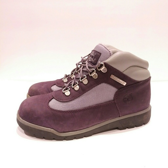59280ee2cf Timberland Shoes | Girls 6 Euro 39 Purple Boots | Poshmark